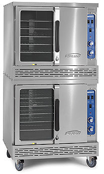 Imperial ICVDE-2 Convection Oven, electric, (2) deck, bakery depth, (2) speed fan motor, CE