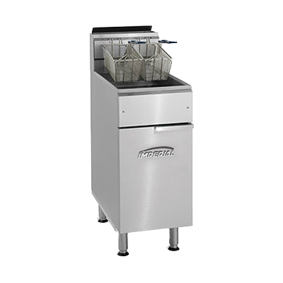 Imperial IFS-40 Fryer, gas, floor model, 40lb. capacity