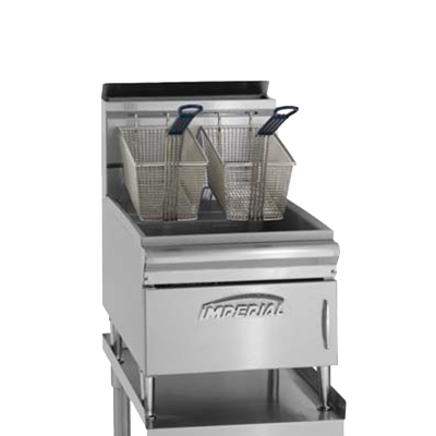 Imperial IFST-25 Fryer, gas, countertop, 25 lb. capacity