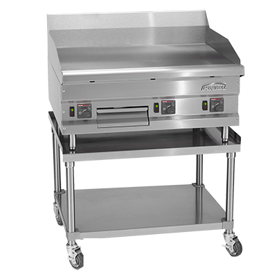 "Imperial IHEG-60 High Efficiency Griddle, countertop, gas, 60"" W x 24"" D cooking surface, 120v, 150,000 BTU"