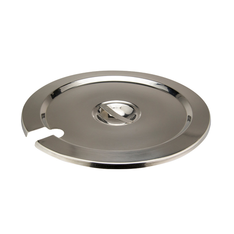 Winco INSC-11M Inset Cover, for 11 quart (INSN-11), heavy weight stainless steel, mirror finish