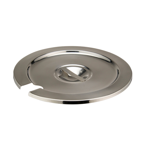 Winco INSC-7M Inset Cover, for 7 quart (INSN-7), heavy weight stainless steel, mirror finish