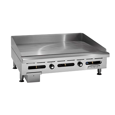 "Imperial ITG-24 Griddle, countertop, gas, 24"" W x 24"" D"