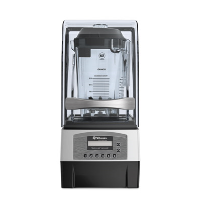 Vitamix 068255-ABAB Touch & Go® 2 Blending Station, on-counter, stackable 32 oz. (0.9 liter) capacity, 2-peak HP, 120v/50/60/1-ph, 11.5 amps, NEMA 5-15P, RoHS compliant, cULus, CE, NSF