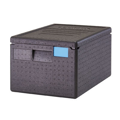 Cambro EPP180SW110 GoBox Insulated Food Pan Carrier, 48.6 qt., Top Load, Lightweight