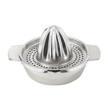"Winco JC-4 Hand Citrus Juicer, 5"" dia., stainless steel"