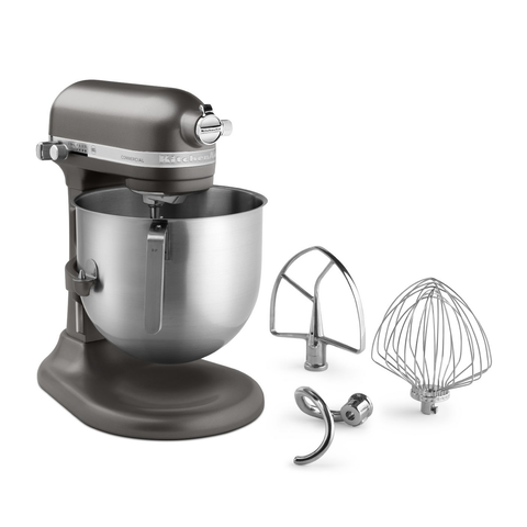 KitchenAid® KSM8990DP Commercial Stand Mixer, 8 Quart bowl with Lift