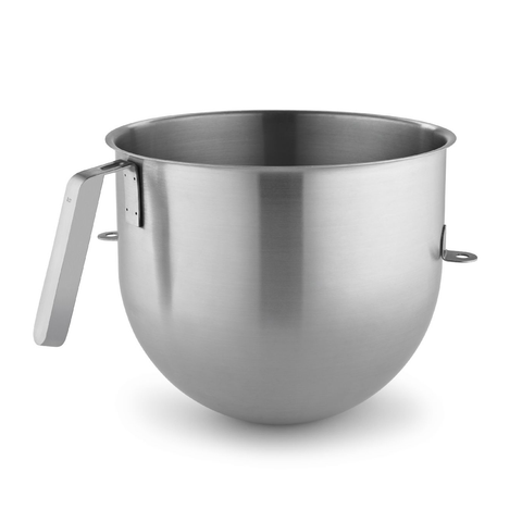 KitchenAid® KSMC8QBOWL Mixer Bowl, 8 Quart Capacity, Stainless Steel, NSF