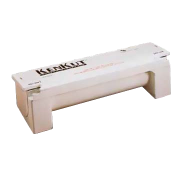 "TableCraft Products KK6 KenKut II™ Dispenser, 27-1/8"" x 8-1/2"" x 7-1/4"", for 24"" film or foil, rolls up to 3000', includes 2 blades, NSF approved"