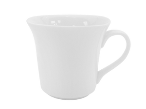 "CAC China KSE-54 Kingsquare Demitasse Cup, 4-1/2 oz., 3""L x 2""W x 2-7/8""H, square"