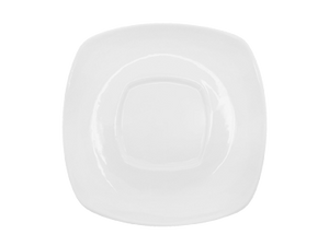 "CAC China KSE-55 Kingsquare Saucer, 4-1/2""L x 4-1/2""W x 3/4""H, square"