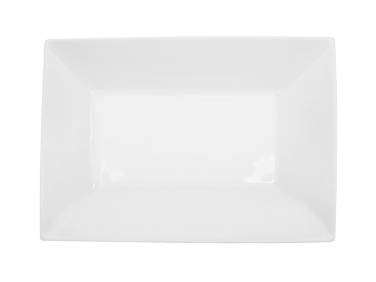 "CAC China KSE-C13 Kingsquare Platter, 11-3/4""L x 8-1/4""W x 1-3/4""H, rectangular, 1dz Per Case"