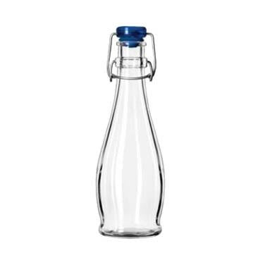 Libbey 13151017, 12 oz. Water Bottle With Wire Bail Lid , Glass