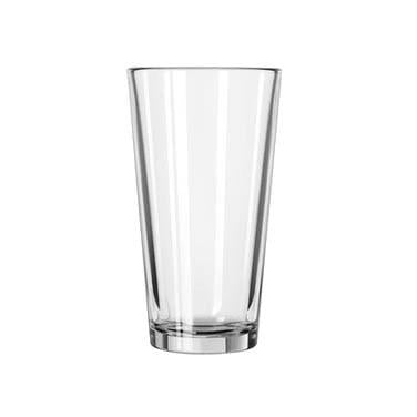 Libbey 15385-69292, 16 oz. Fizzazz Tall Plain Laser Etched Mixing Glass