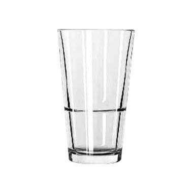 Libbey 15790, 16 oz. Stacking Mixing Glass - Duratuff
