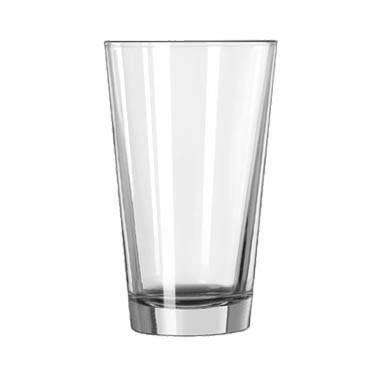 Libbey 1632HT, 18 oz. Restaurant Basics Duratuff Heat Treated Mixing Glass