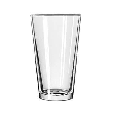 Libbey 1637HT, 20 oz. Restaurant Basics Duratuff Heat Treated Mixing Glass