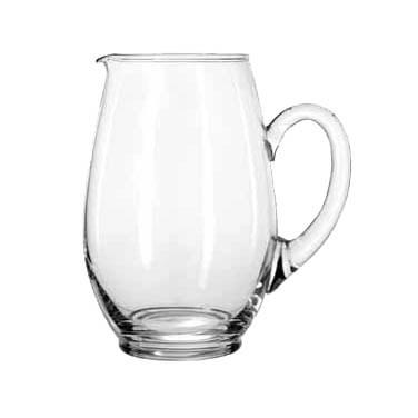 Libbey 1783127 Mario 58 oz. Glass Pitcher