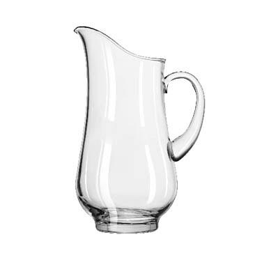 Libbey 1787724 Atlantis 73 oz. Glass Pitcher