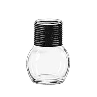 Libbey 5065, 11.5 oz. Glass Hottle Server With Black Band