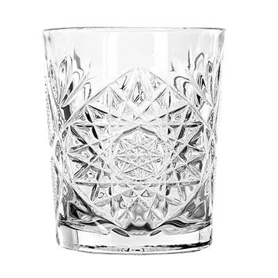 Libbey 5632 Hobstar 12 oz. Double Old Fashion Glass