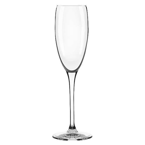 Libbey Master's Reserve® 9157 Contour 6 oz. Flute Glass, Made In USA