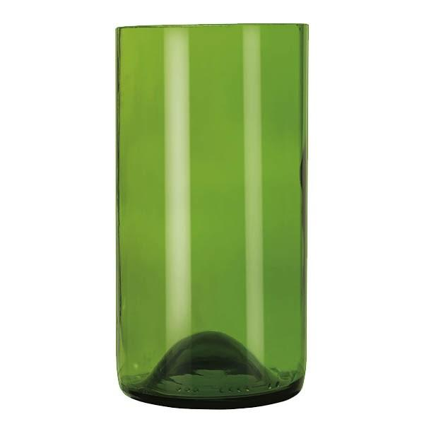 Libbey 97284, 16 oz. Green Repurposed Wine Bottle Tumbler