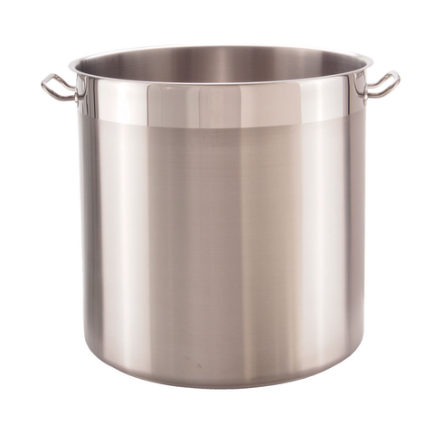 Libertyware SSPOT37WC Stainless Steel Induction Stock Pot, 37 qt, with Cover
