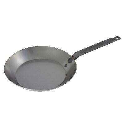 Matfer 062001 Black Steel Round Frying Pan