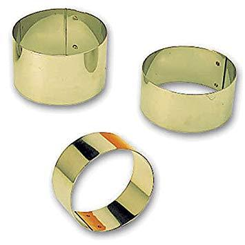 "Matfer 375112 1-7/8"" Stainless Steel Round Pastry Ring"
