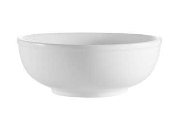 "CAC China MB-7 Clinton Salad/Pasta Bowl, 25 oz., 7-1/2"" dia. x 2-3/4""H, round, 2dz Per Case"