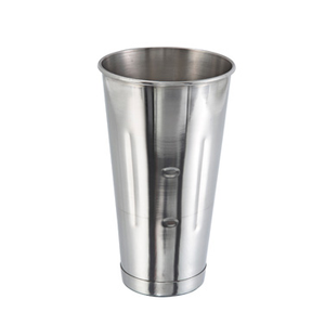 Winco MCP-30 Malt Cup, 30 oz., stainless steel