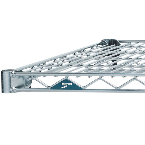 "Metro 1824BR Super Erecta Brite Wire Shelf - 18"" x 24"""
