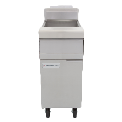 Frymaster MJ140 Performance Fryer, gas, floor model, 40 lb. oil capacity, open frypot design, EZSpark™ ignitor, stainless steel frypot, 110,000 BTU, NSF, CSA, cCSAus, CSA Star