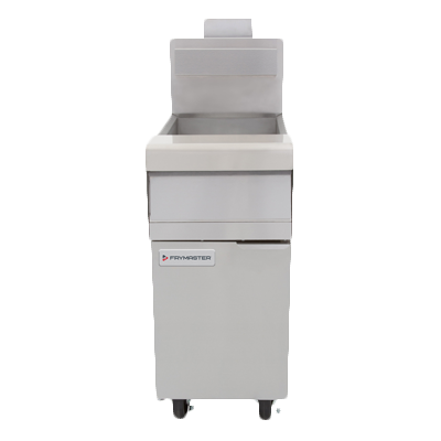 Frymaster MJ150 Performance Fryer, gas, floor model, 50 lb. oil capacity, open frypot design, EZSpark™ ignitor, stainless steel frypot, 122,000 BTU, NSF, CSA, cCSAus, CSA Star