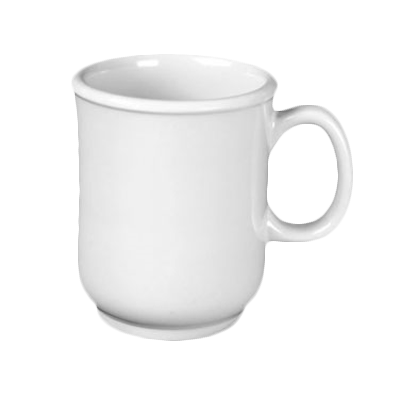 Thunder Group ML901W Nustone White Melamine Mug 8 oz.