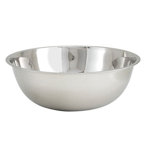 Winco MXB-2000Q 20 Qt. Standard Weight Stainless Steel Mixing Bowl