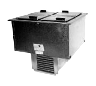 Delfield N227P Ice Cream Dipping Cabinet, drop-in type, 12 gallon capacity, self-contained, cUL, UL, NSF