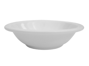 "CAC China NCN-11 Clinton Fruit Dish, 5 oz., 4-3/4"" dia. x 1""H, round, narrow rim, 3dz Per Case"