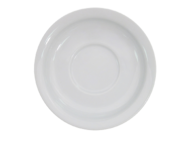 "CAC China NCN-2 Clinton Saucer, 5-5/8"" dia. x 3/4""H, round, narrow rim, 3dz Per Case"