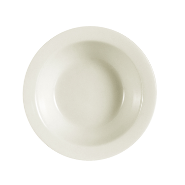 "CAC China NRC-11 Fruit Dish, 4-1/2 oz., 4-5/8"" dia. x 1-3/8""H, round, narrow rim, 3dz Per Case"