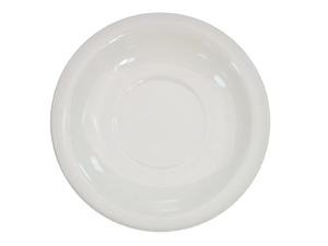"CAC China NRC-2 Saucer, 5-1/2"" dia. x 1""H, round, narrow rim, 3dz Per Case"