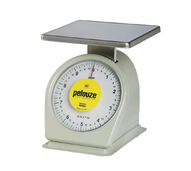 Rubbermaid FG810W Pelouze® Mechanical Heavy-Duty Portion Control Scale (10 lb x 1 oz)