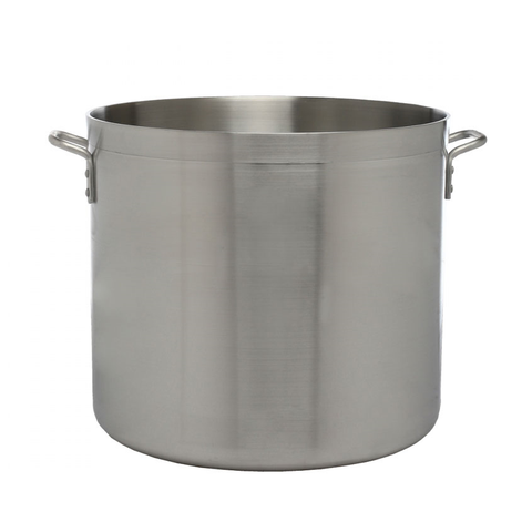 Libertyware POT12H, Heavy Duty Stock Pot, 12 qt, without Cover, Aluminum, NSF