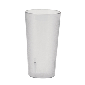 Winco PTP-32C Tumbler, 32 oz., pebbled, break-resistant, dishwasher safe, plastic, clear