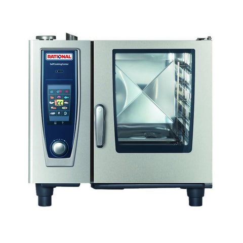 Rational B618206.27D SelfCooking Center® Combi Oven/Steamer, LP, 120v/60/1-ph