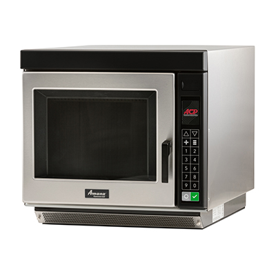Amana RC22S2 Commercial Microwave Oven, 208-240v/60/1-ph, 15.4 amps, 20 MCA, 3200 watts