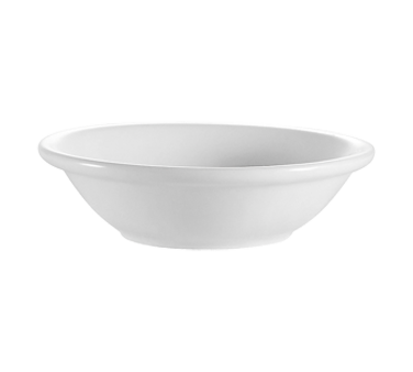 "CAC China RCN-32 Clinton Fruit Dish, 3-1/2 oz., 4-1/2"" dia. x 1""H, round, 3dz Per Case"