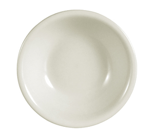 "CAC China REC-11 REC Fruit Dish, 5 oz., 4-3/4"" dia. x 1""H, round, rolled edge, 3dz Per Case"
