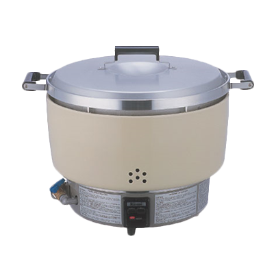 Thunder RER55ASN Rice Cooker, 55 cup capacity, 35,000 BTU, Natural gas, Rinnai®, NSF, CSA Star